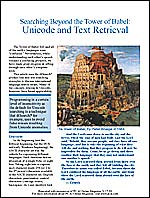 """Unicode and Text Retrieval"""
